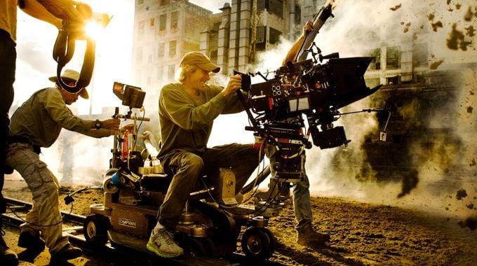 Rodaje de Transformers