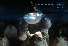 Escena de Alien, el octavo pasajero