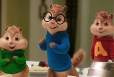 Escena de Alvin y las ardillas: Fiesta sobre ruedas