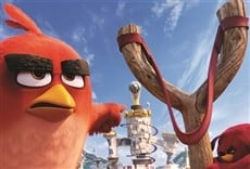 Escena de Angry Birds
