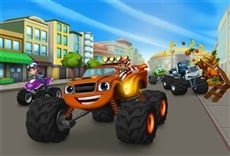 Escena de Blaze and the Monster Machines