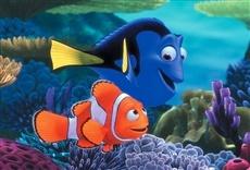 Escena de Buscando a Nemo
