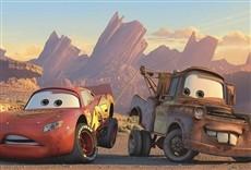 Escena de Cars