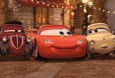 Escena de Cars 2