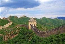 Escena de China moderna