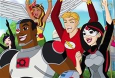 Escena de DC Super Hero Girls: Juegos intergalácticos
