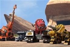 Escena de Dinotrux