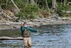 Televisión Disfrutando de la pesca