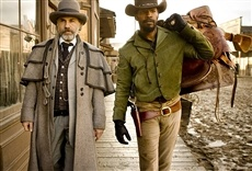 Escena de Django desencadenado