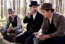 Escena de El asesinato de Jesse James por el cobarde Robert Ford