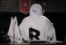 Escena de El fantasma de la B