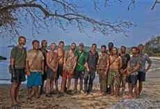 Reality En la isla, con Bear Grylls
