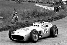 Escena de Fangio, viaje a la memoria