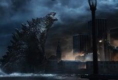 Escena de Godzilla