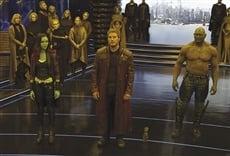 Escena de Guardianes de la galaxia Vol. 2