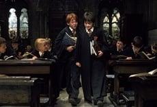 Escena de Harry Potter y la piedra filosofal