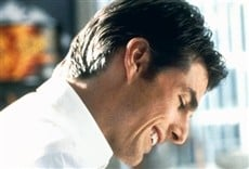 Escena de Jerry Maguire, amor y desafío