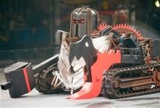 Escena de La batalla de los robots