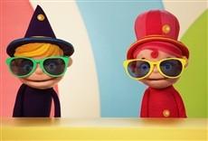 Escena de La clase de Teeny & Tiny