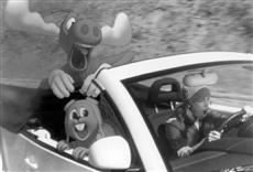 Escena de Las aventuras de Rocky y Bullwinkle