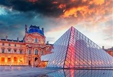 Escena de Las batallas del Louvre