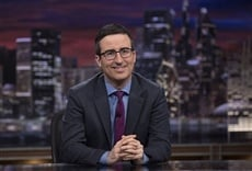 Escena de Last Week Tonight with John Oliver