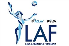 Televisión Liga Argentina de vóley femenino