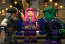 Escena de Liga de la Justicia LEGO: Escape de Ciudad Gótica