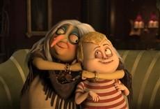 Escena de The Addams Family