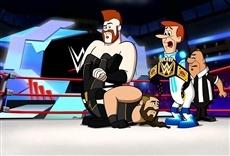 Película Los supersónicos y la WWE: Robo-Wrestlemania