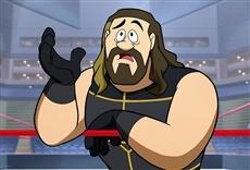 Escena de Los supersónicos y la WWE: Robo-Wrestlemania