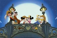 Escena de Mickey, Donald, Goofy - Los tres mosqueteros