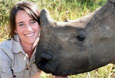 Escena de Orfanato de rinocerontes