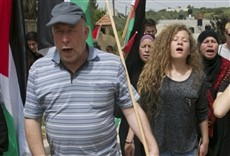 Televisión Palestina imágenes robadas