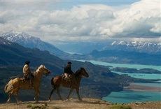 Escena de Patagonia salvaje