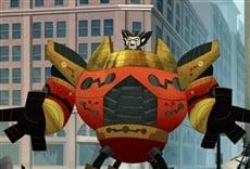 Escena de Penn Zero: casi héroe