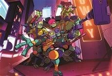 Escena de Rise of the Teenage Mutant Ninja Turtles