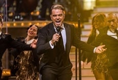 Escena de Robbie Williams One Night at the Palladium