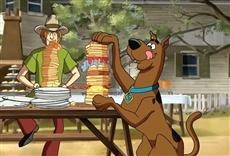 Escena de Scooby Doo duelo en el viejo oeste
