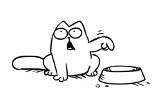 Escena de Simon's Cat