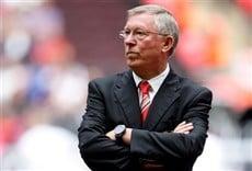 Escena de Sir Alex Ferguson