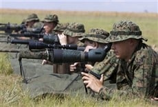 Escena de Sniper al límite
