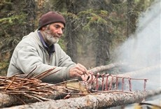 Escena de Sobreviviendo Alaska
