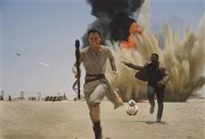 Escena de Star Wars: Episodio VII - El despertar de la fuerza