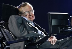 Escena de Stephen Hawking: el gran diseño