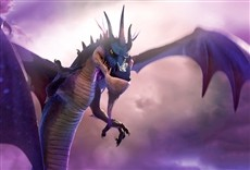 Escena de The Dragon Spell