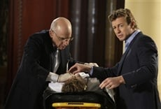 Escena de The Mentalist