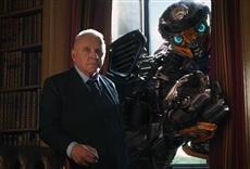 Escena de Transformers: el último caballero