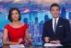 Televisión Your World Today with Isa Soares & Cyril Vanier