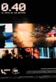 Ver película 0.40 El límite de tus sentidos
